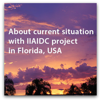About current situation with IIAIDC project in Florida